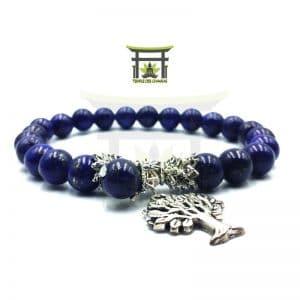 Bracelet Arbre de Vie en Lapis Lazuli