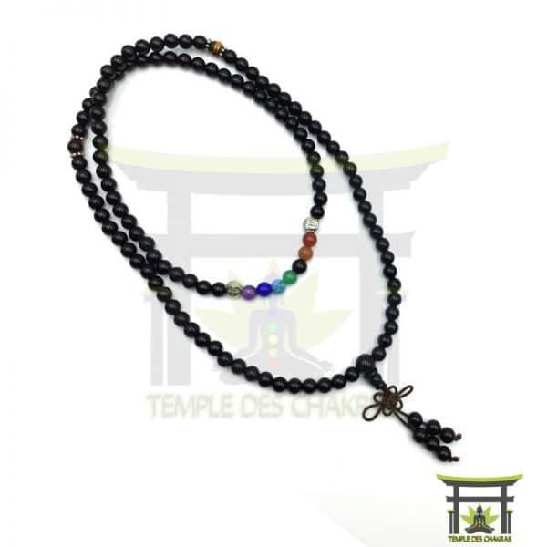 Bracelet-Mala-7-Chakras-de-Guérison--en-Onyx-3