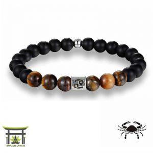Bracelet Signe du Zodiac en Œil de Tigre