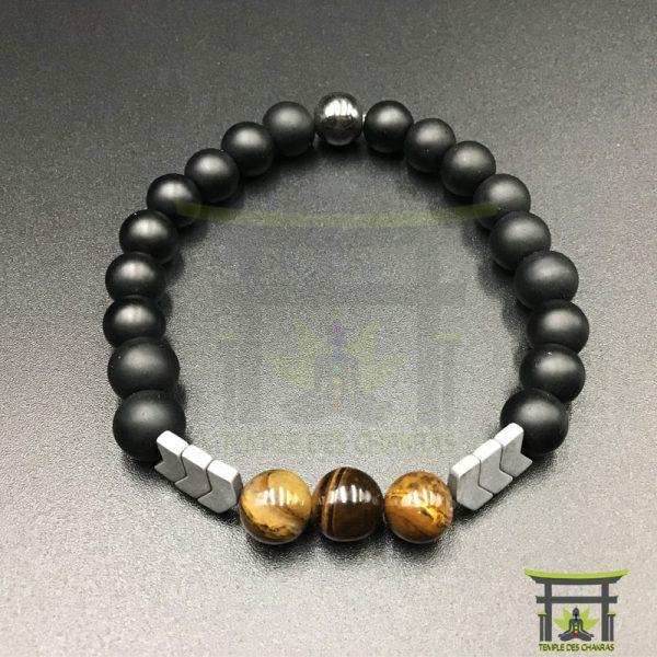 bracelet-magnetique-fleche-sacree-en-oeil-de-tigre-noir-2