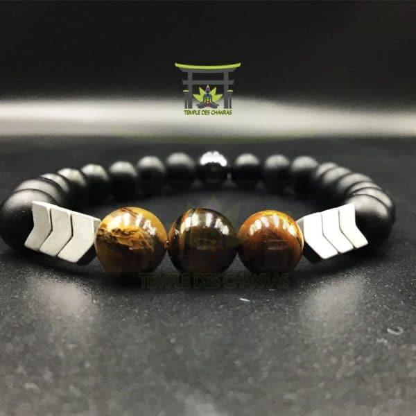 bracelet-magnetique-fleche-sacree-en-oeil-de-tigre-noir