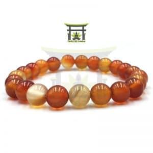 bracelet-en-cornaline-en-8-mm