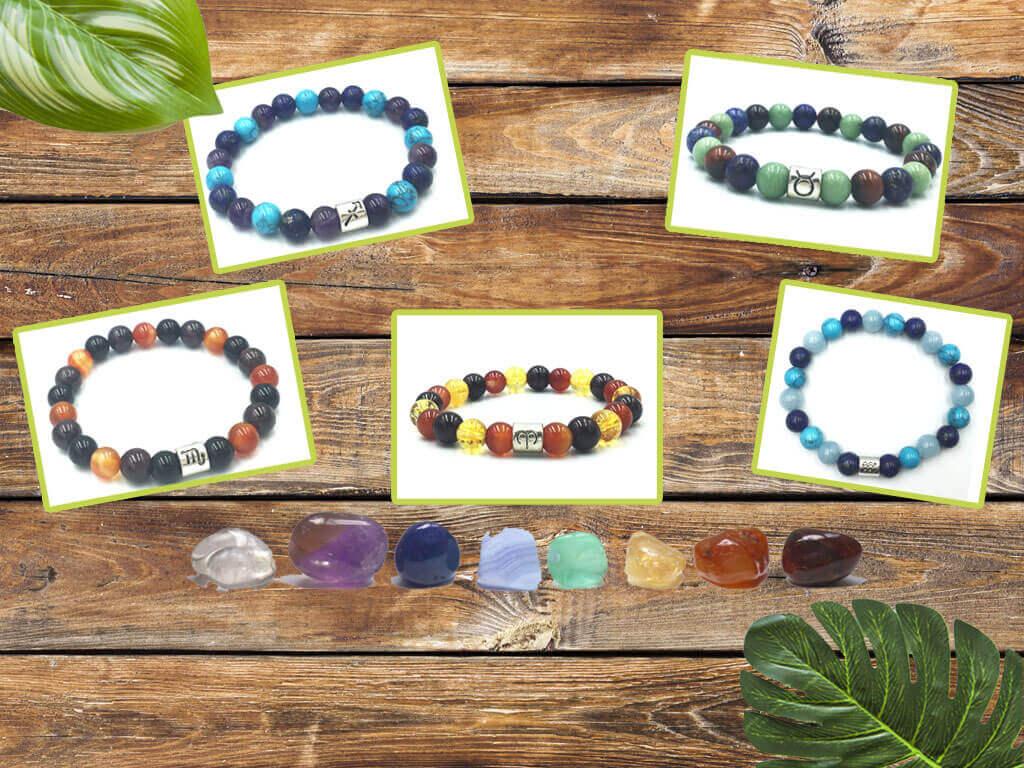 Bracelets-astro-accueil-temple-des-chakras-La boutique des Bijoux zen et spirituels