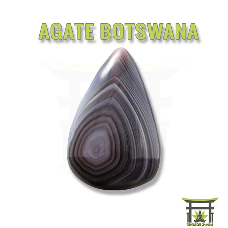 Pierre naturelle Agate Botswana