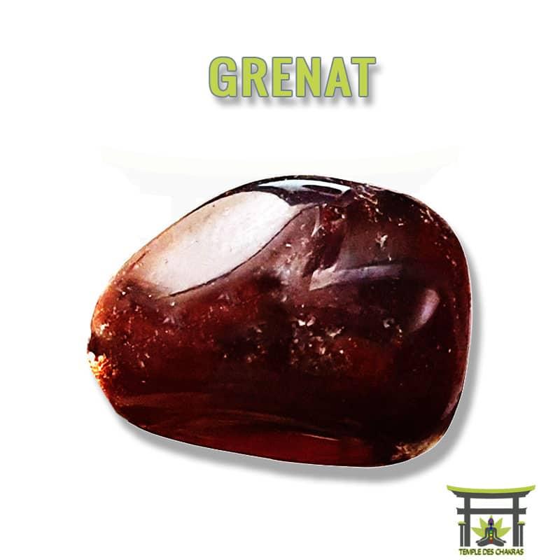 Pierre naturelle Grenat