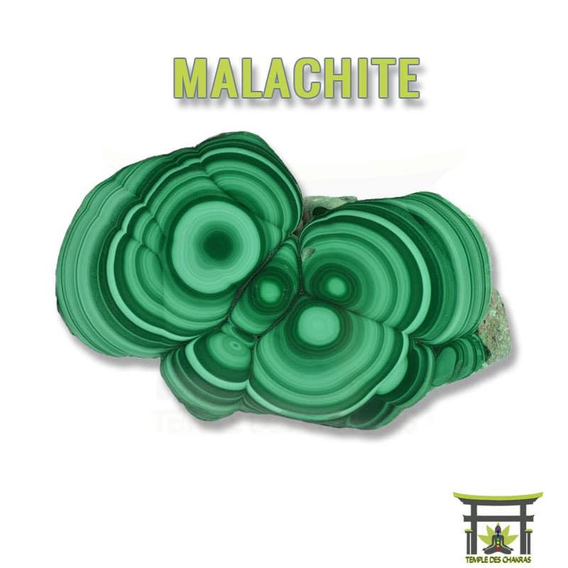 Pierre naturelle Malachite