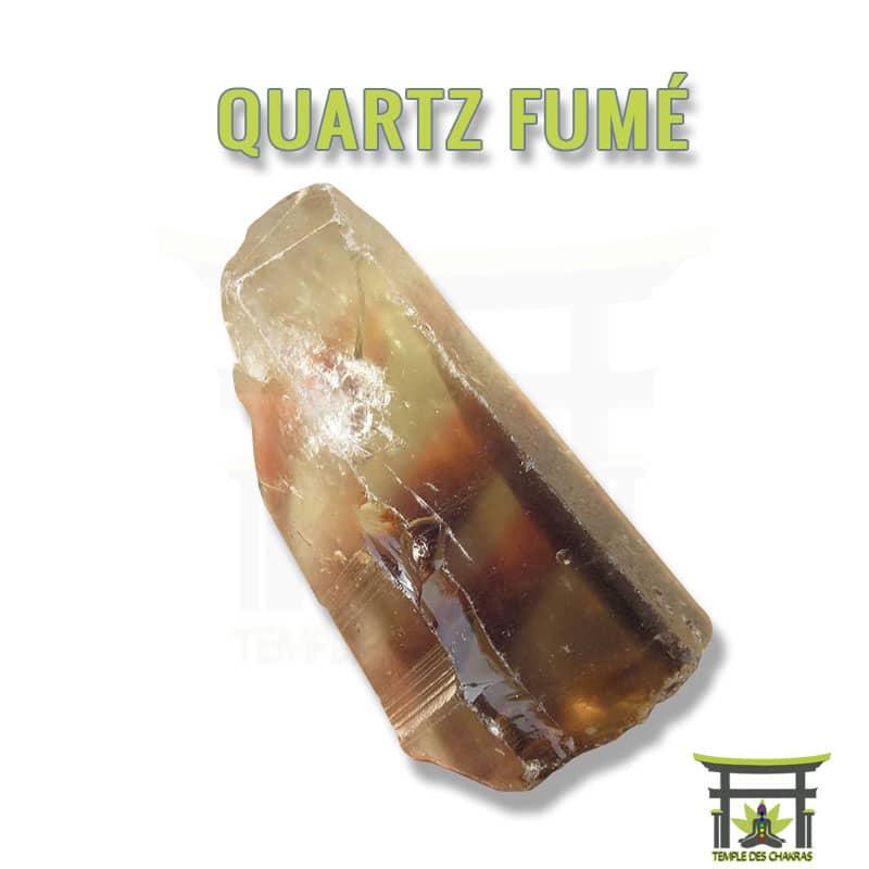 Pierre naturelle Quartz Fumé