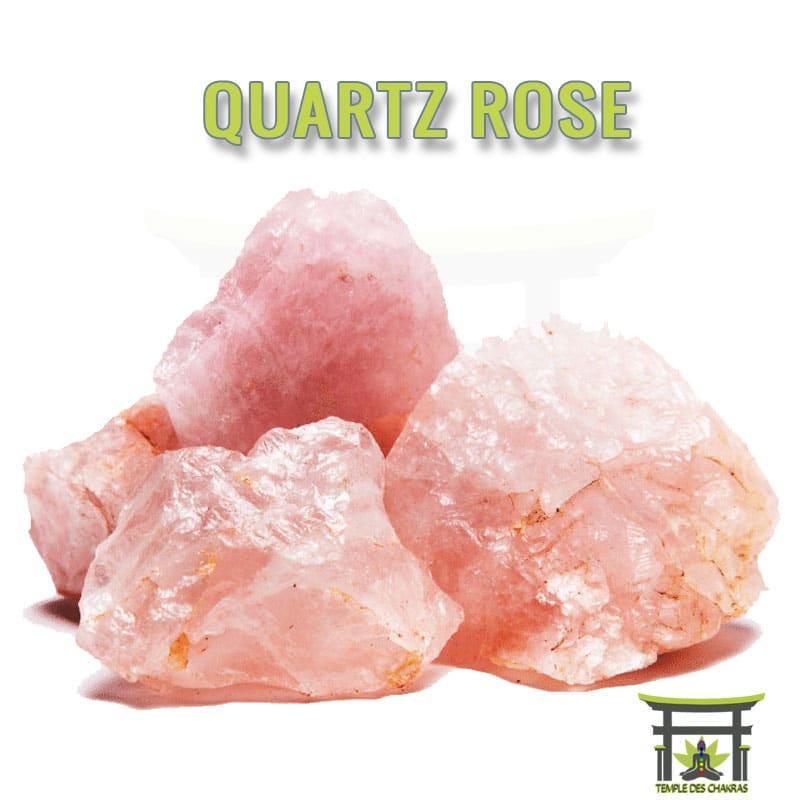 Pierre naturelle Quartz Rose