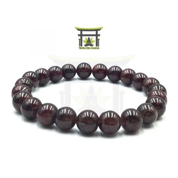bracelet en pierre naturelle de grenat